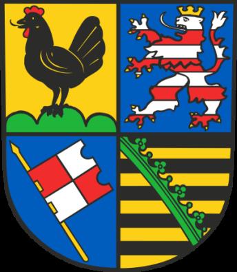 Wappen des Landkreises Schmalkalden-Meiningen