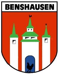 Wappen der Gemeinde Benshausen