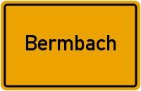 Ortsschild der Gemeinde Bermbach