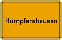 Ortsschild der Gemeinde Hümpfershausen