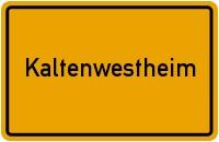 Wappen der Gemeinde Kaltenwestheim